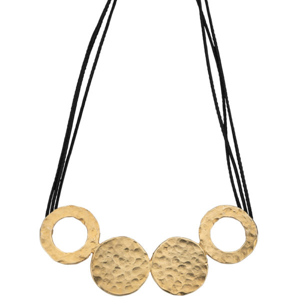 Kypseli Hera necklace gold plated brass