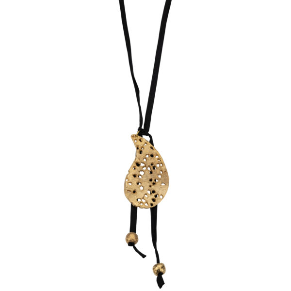 Lahouri necklace – Brass, gold plated