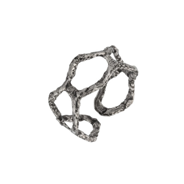 Kypseli ring – Silver 925, antique