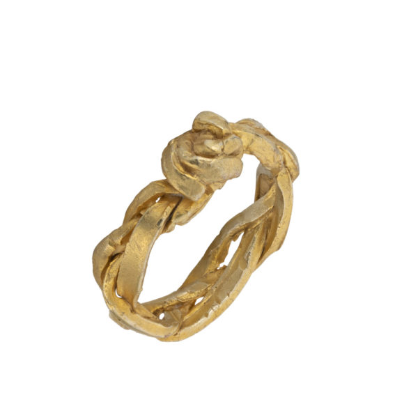 Demetra ring – Silver 925, gold plated
