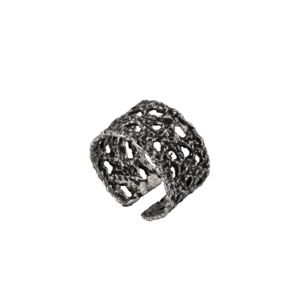 Old Lace ring – Silver 925, antique