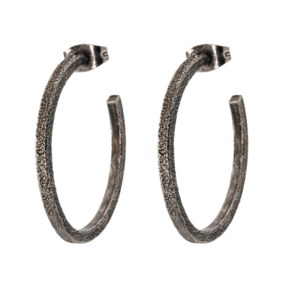Ear-ring earrings – Silver 925, antique