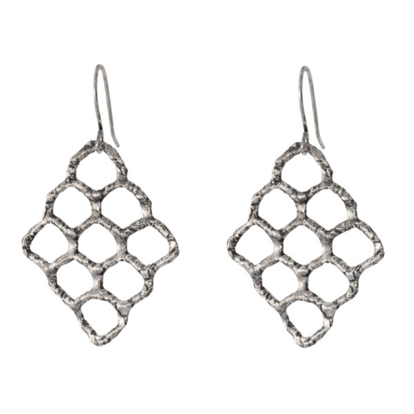 Kypseli earrings – Silver 925