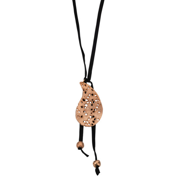 Lahouri necklace – Brass, rose gold plated
