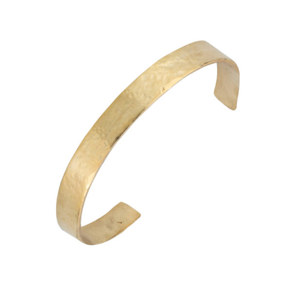 Silver Cuff bracelet – Silver 925, gold plated