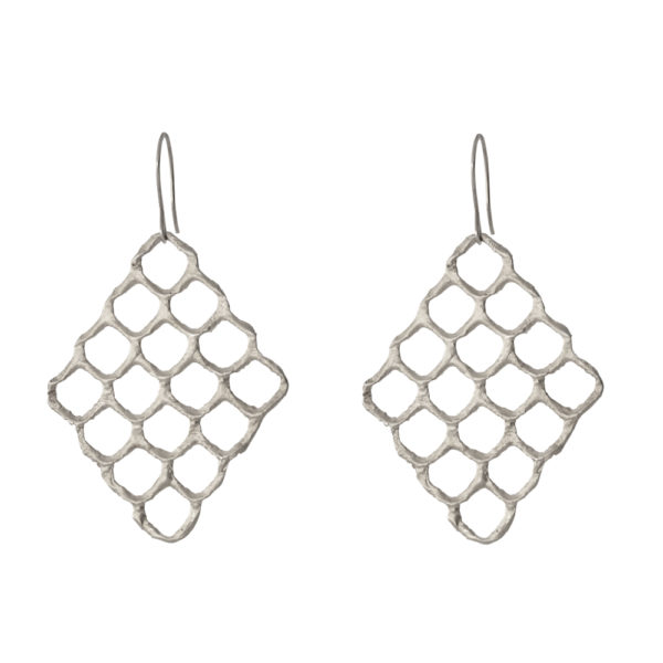 Queen Bee earrings – Silver 925