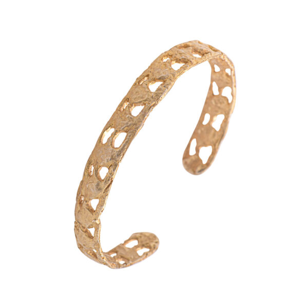 Delos bracelet - silver 925 gold plated