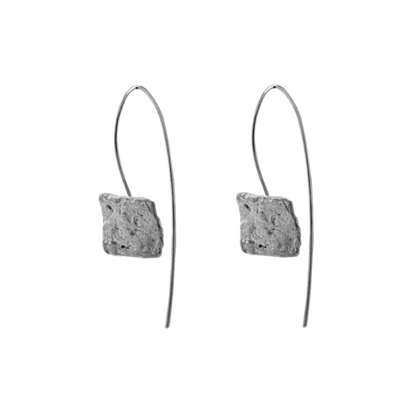 Delos earrings Silver 925 Antique