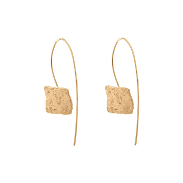Delos earrings Silver 925 Gold Plated