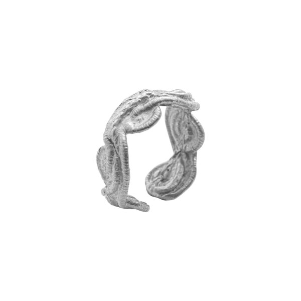 Thetis Ring - Brass, Silver Plated