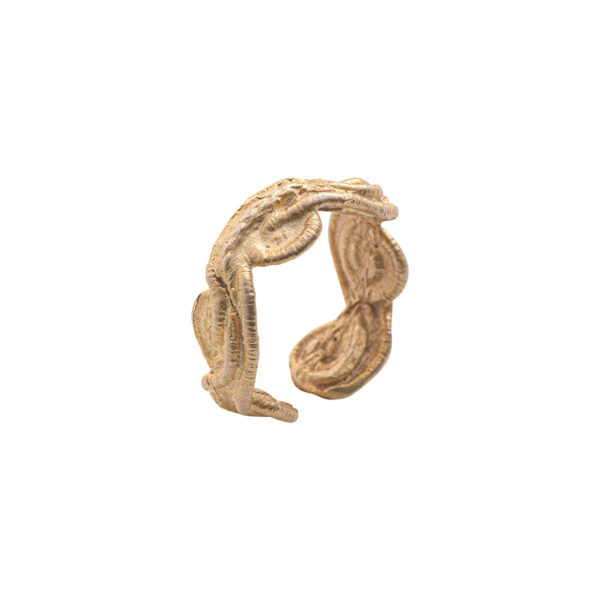 Thetis Ring - Brass, Gold Plated
