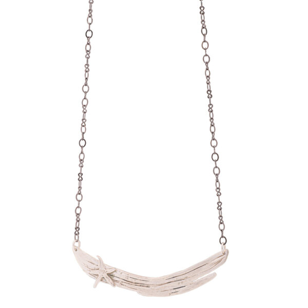 asterias necklace silver 925