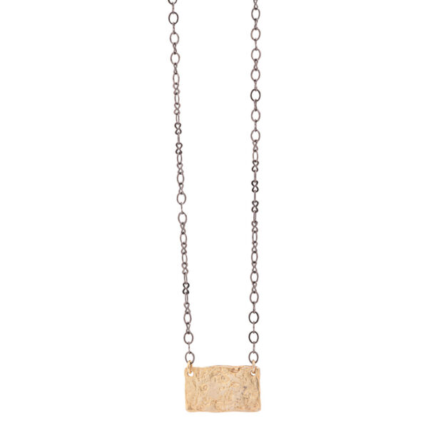 Delos necklace silver 925 - gold plated