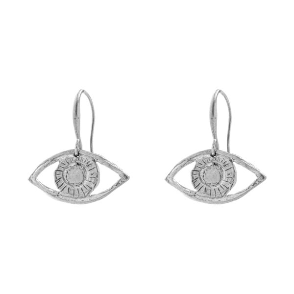 Eyes earrings silver 925