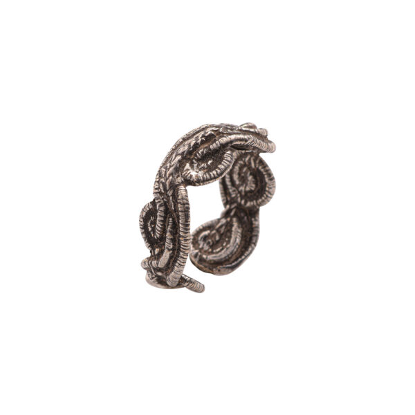 Thetis Ring - Brass, Antique Silver Plated